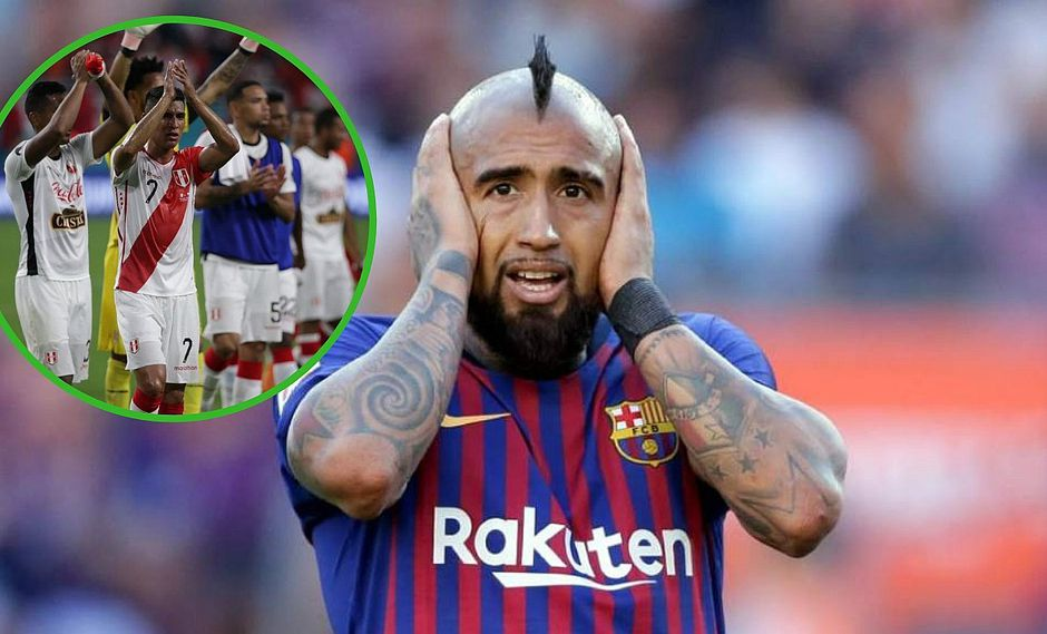 "Arturo Vidal afirma que no duele goleada peruana porque ""es un amistoso"" (VIDEO)"