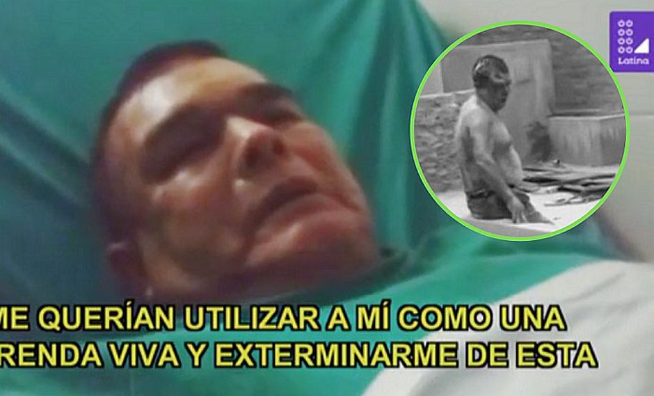 Profesor que se salvó de ritual satánico habla desde el hospital (FOTOS)