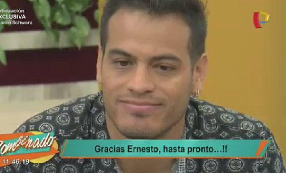 Ernesto Jiménez deja Panamericana TV para irse a otro canal (VIDEO)