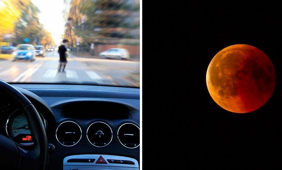 """Pareja contemplaba la """"luna roja"""" y fueron atropellados por un patrullero"""