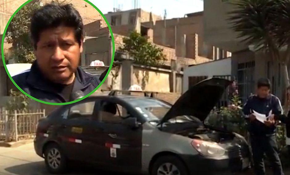 """Desmantelan auto a """"taxista honrado"""" en San Juan de Lurigancho (VIDEO)"""
