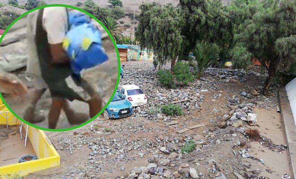Donan ataúd para niño de 4 años que falleció en huaico en Tacna (VIDEO)