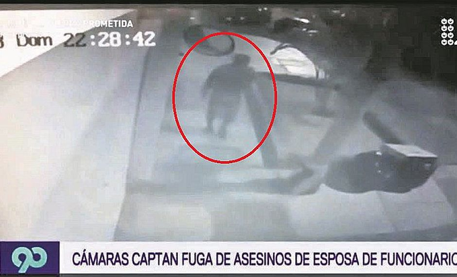 Vídeo delata al asesino de esposa de funcionario del Callao