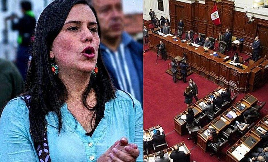 """Verónika Mendoza: """"¡Que se vayan todos, que decida la gente!"""""""
